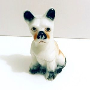 Vintage 1950's French Bulldog puppy dog figurine